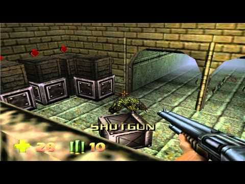 Turok 2: Seeds Of Evil PC Gameplay Level 1 HD (Parte 1)