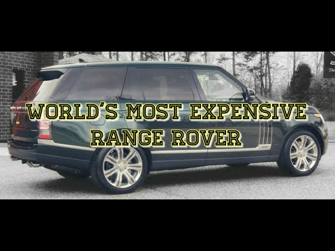 World's Most Expensive Range Rover - The Holland & Holland Ed.