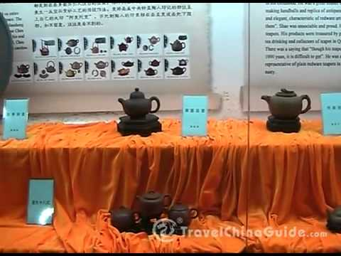 The Purple Sand Teapot Museum in Wuxi
