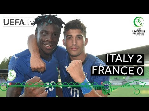 #U19 EURO Highlights: Italy 2-0 France