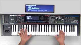 Roland Juno-Gi Sound Examples - Preset 044 - BellPiano
