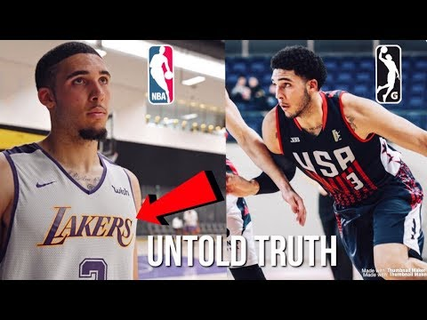 The Untold Truth About LiAngelo Ball FUTURE Playing For The G League & 2019 Summer League..
