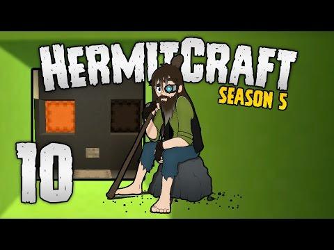 HermitCraft 5 - #10   Hahaha BABY FACE!!...