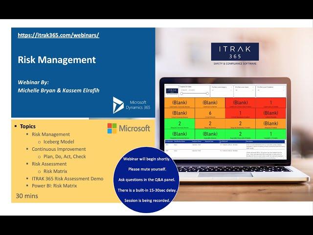 ITRAK Expert Demo: Risk Management