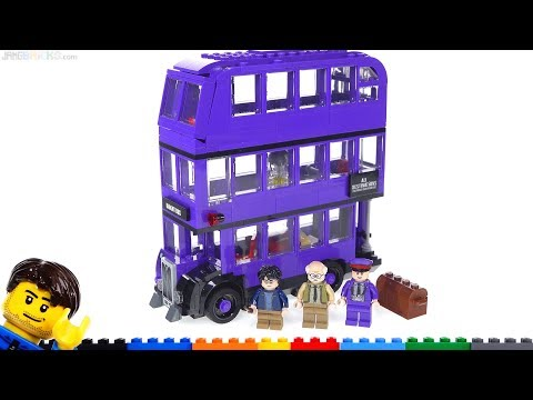 LEGO Harry Potter Knight Bus 2019 review 75957