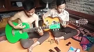 crazyrasta di dekatmu cover gitar melodi