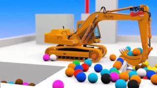 Развивающие мультики про машинки - Умный ребенок