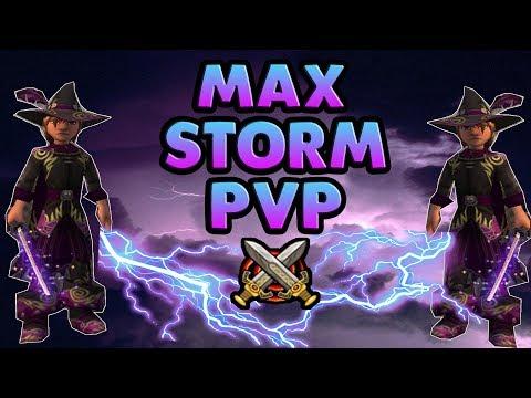 Wizard101 Storm 1v1 Tournament / Insane Bolts Everywhere!