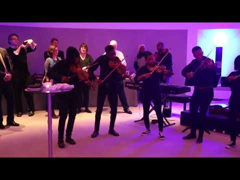 Keiskamma Music Academy - Playing at the Royal College of Physicians - London (December 2017)