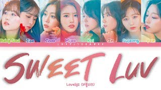 ................................................................................ artist: lovelyz (러블리즈) song: sweet luv album: 'once upon a time' mini album ...