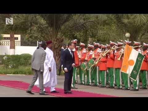 France's Macron to propose concrete plans to develop Niger, fight militants