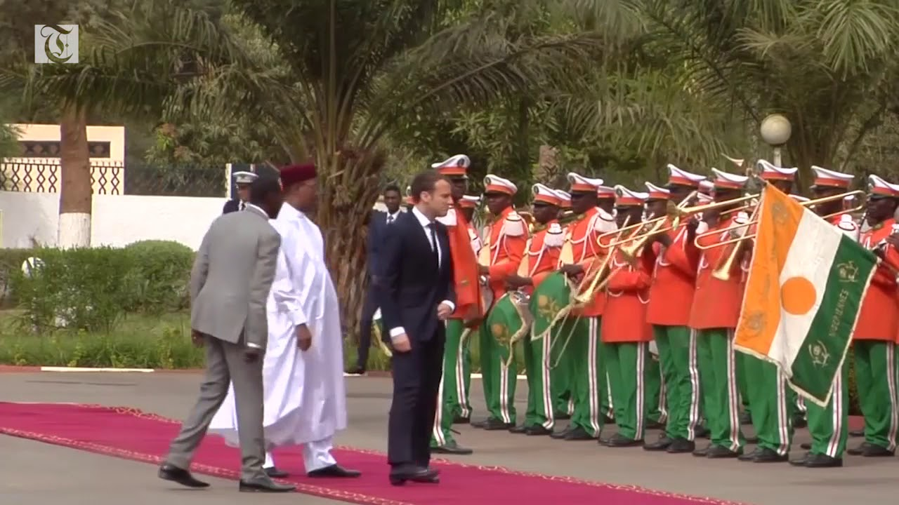 France's Macron to propose concrete plans to develop Niger, fight militants