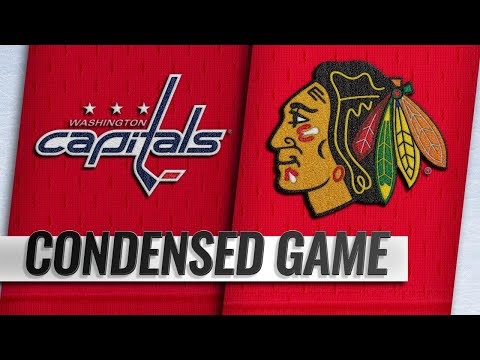 01/20/19 Condensed Game: Capitals @ Blackhawks