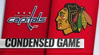 01/20/19 Condensed Game: Capitals @ Blackhawks