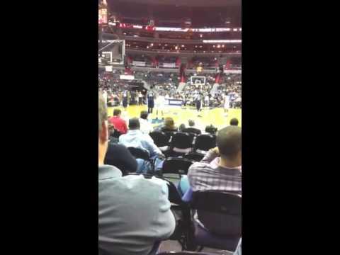 Washington Wizards vs grizzlies 2010
