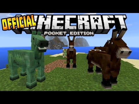 MCPE 0.15.0 OFFICIAL RELEASE!!! - Horses, Pistons & MORE - Minecraft PE (Pocket Edition)