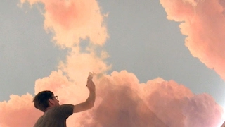painting clouds on the ceiling in plano texas part 1