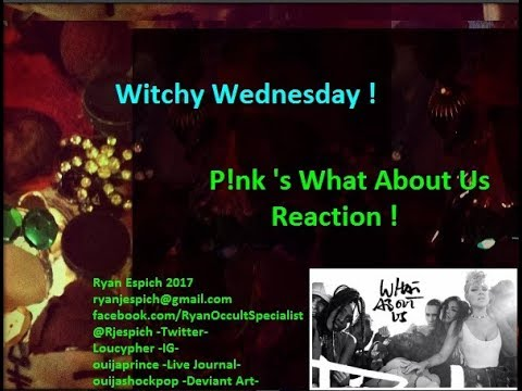 Pink's -What About Us Reaction- + LBRP Ritual + Coffee Talk + Witchy Wednesday
