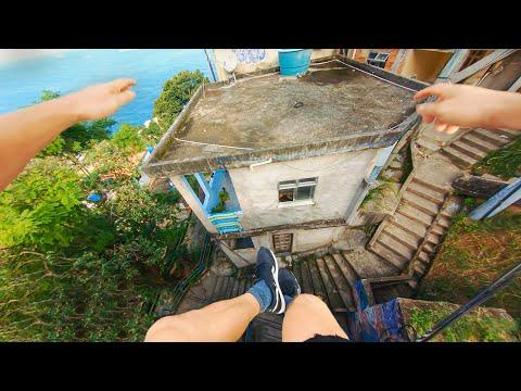 Rio de Janeiro Rooftop Parkour POV 🇧🇷