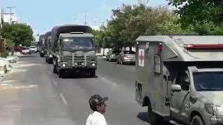Tropas do Exército chegam a Mossoró para reforçar segurança
