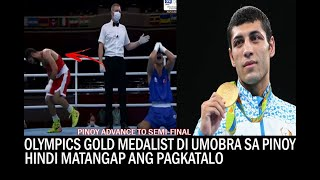 FOMER OLYMPICS GOLD MEDALIST HINDI UMOBRA kay CARLO PAALAM! WASAK ANG KILAY