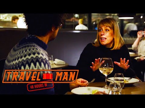 Richard Ayoade & Fay Ripley talking Colons EXCLUSIVE    Travel Man: 48hrs in Oslo...