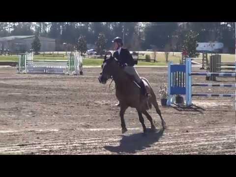 Adele Marchant & George Low Junior/Amateur Jumper Power + Speed- Aiken Cupid Classic 2013
