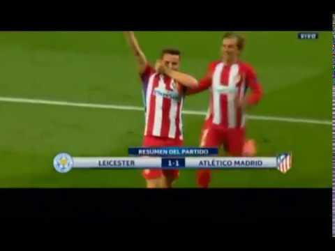Leicester 1-1 Atlético De Madrid (Champions cuartos de final vuelta)