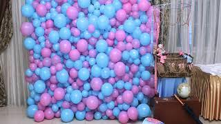 украшение из шаров на свадьбу своими руками