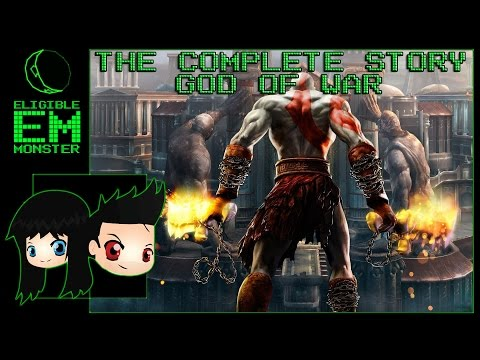 God Of War - The Entire Complete Story