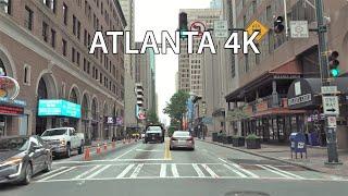 Atlanta 4K - Driving Downtown - Georgia USA