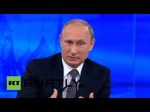 LIVE: Putin delivers annual Q&A in Moscow - ORIGINAL