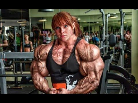 Dickerman - Giant Russian Female Bodybuilder