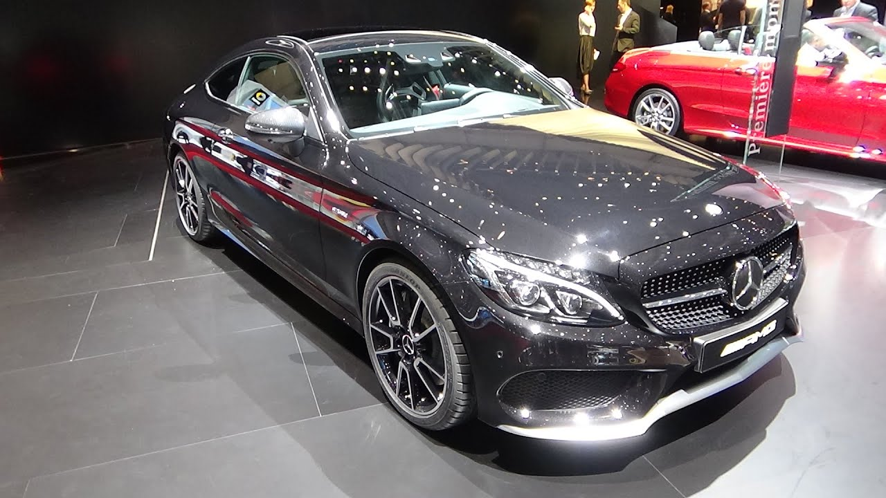 2017 - Mercedes-AMG C43 4Matic Coupe - Exterior and Interior ...