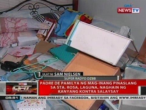 Padre de pamilya ng mag-inang pinaslang sa Sta. Rosa, Laguna, naghain ng kanyang kontra salaysay