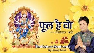 फूल है वो किस्मत वाले   Phool Hain Wo Kismat Wale   Latest Mata Rani Bhajan 2019   Sandeep Bansal