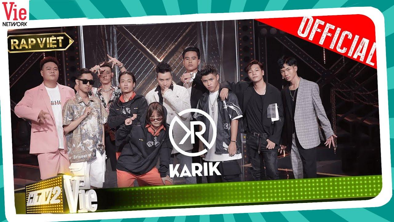 RAP VIỆT Tập 8| Karik, Trấn Thành bật khóc vì bộ ba MCK - Duy Andy - Yuno Bigboi, Binz dùng nón vàng