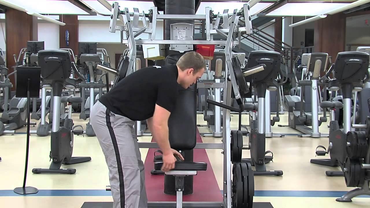 Hammer Strength Incline Press Tutorial