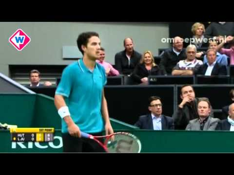 Jesse Huta Galung op ABN AMRO World Tennis Tournament