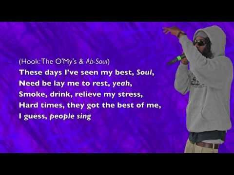 AbSoul  These Days ft The OMys  Lyrics