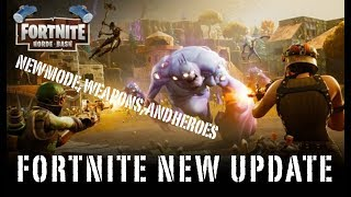 Fortnite Horde Bash update Trailer FREE TO PLAY GAME