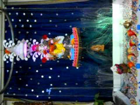 Ganesh Ganpati Decoration 2011pravin Kage Pune Avi Youtube