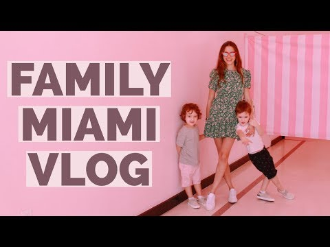 We're in Miami! | Family Vlog