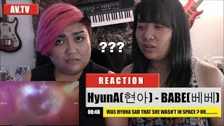 [REACTION] HyunA(현아) - BABE(베베)