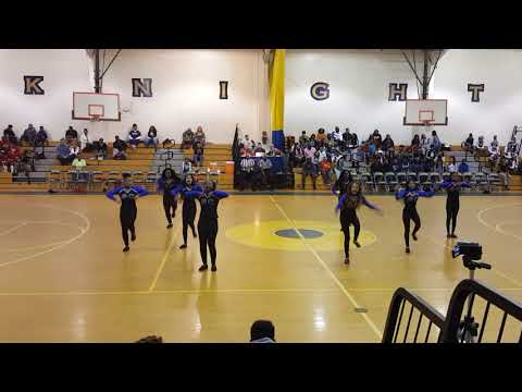 ECMA DANCE TEAM FIRST PERFORMANCE!