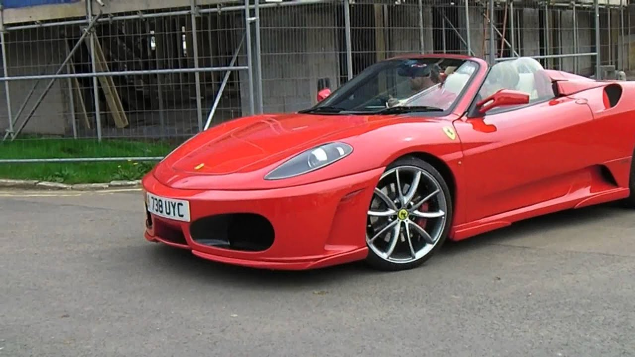 Ferrari F430 Spider Replica From A Toyota Mr2 Donor Car
