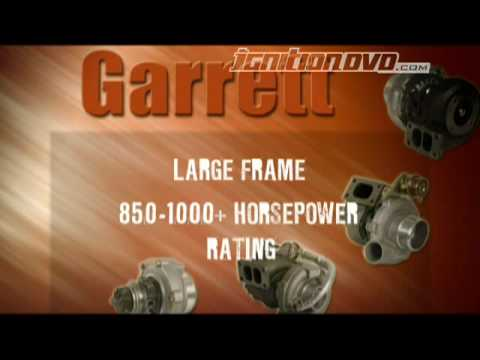 Garrett Turbo Range from GCG Turbos