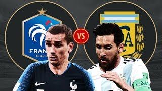 COMENTAM FRANTA vs ARGENTINA IMPREUNA - CUPA MONDIALA 2018