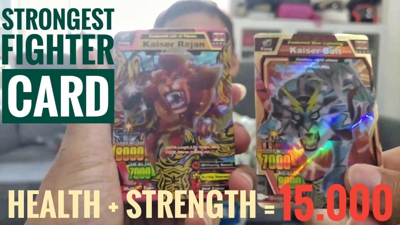 Koleksi Kartu Strong Animal Kaiser Terkuat (Health ...