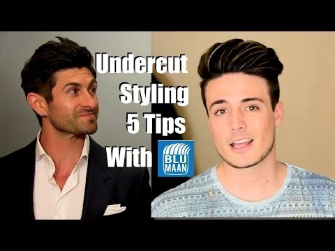 Undercut Hairstyle Tutorial